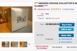 Choáng váng iPod đời đầu chào giá 200.000 USD