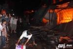 Cận cảnh vụ cháy chợ lớn nhất huyện miền núi Hà Tĩnh