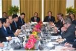 Ảnh: Thủ tướng dự tọa đàm, tiếp lãnh đạo các tập đoàn Mỹ