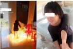 Vì trêu đùa trên mạng xã hội, nữ sinh Khánh Hòa châm lửa đốt trường