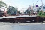 Xác định nguyên nhân cầu nứt toác, suýt tách đôi ở Sài Gòn