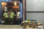 Đột kích kho mỹ phẩm lậu 'khủng' tại Sài Gòn