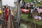 Mải chụp ảnh trên đường ray, nữ sinh bị tàu hỏa tông rơi xuống sông chết thảm