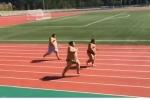 Video: Võ sĩ sumo quyết ăn thua chạy thi 50m