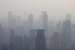 Clip: Kinh hoàng khói mù từ Trung Quốc bao phủ 6 tỉnh của Hàn Quốc
