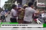 Clip: Gần 100 cảnh sát giao thông bị thương khi làm nhiệm vụ