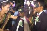 Clip: Nguyệt Ánh hạnh phúc 'khoá môi' chồng Ấn Độ