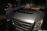 Truy bắt nhóm thanh niên ném đá xe khách trên đường Hồ Chí Minh
