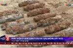 Đào móng xây nhà, hoảng hồn phát hiện 21 quả đạn pháo