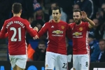 Mkhitaryan rực sáng, Man Utd vùi dập Leicester City