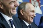 Video kết quả Nga 2-0 New Zealand: Tổng thống Putin cười hạnh phúc