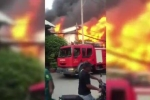 Clip xưởng nệm mút ở TP.HCM cháy ngùn ngụt, khói lửa cuồn cuộn bao trùm