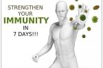 Cách tuyệt hay tạo miễn dịch chống bệnh tật chỉ trong 7 ngày