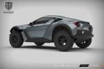 Sand Racer - Xe chinh phục mọi sa mạc có giá từ 100.000 USD