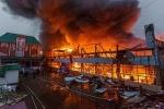 Cặp vợ chồng chết thảm trong đám cháy chợ