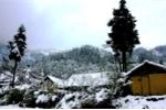 Không khí lạnh tăng cường, vùng núi có thể xuất hiện băng giá