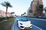 Đại gia ném cả 'chục cân vàng' lên siêu xe Lamborghini