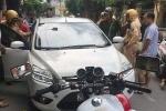 'Kiều nữ Hải Dương' lái xe ngược chiều, chống đối CSGT