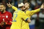 Link sopcast xem bóng đá trực tiếp Ukraine vs Bắc Ailen