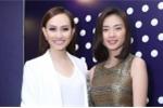 MC Á hậu Kim Duyên đọ vẻ gợi cảm với Ngô Thanh Vân