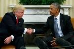 Video: Trump đến Nhà Trắng, cùng Obama thảo luận 'chuyển giao quyền lực'