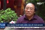 Nhà thơ Trần Đăng Khoa: 'Cục trưởng Nghệ thuật biểu diễn nên xin lỗi rồi từ chức'