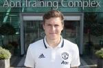 Manchester United chính thức ký hợp đồng với Lindelof