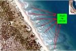 Trường học cảnh báo tác hại của dòng Rip trong mùa biển động