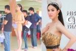 Hoa hậu chuyển giới Thái Lan mặc gợi cảm đi khám nghĩa vụ quân sự