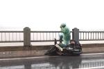 Ảnh: Hà Nội xiêu vẹo trong bão số 1