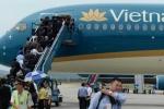 Vietnam Airlines dừng 4 chuyến bay do thời tiết xấu