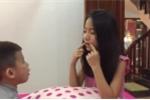 Video: Bé gái dạy tiếng Anh cho em hút hơn 100.000 lượt xem