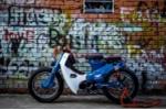 Ngắm Honda Cub 78 độ 'phá cách' của dân chơi Việt