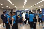 U22 Việt Nam tới Hàn Quốc trong tình trạng uể oải