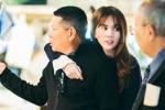 Ngọc Trinh ôm chặt bạn trai 72 tuổi khi mua sắm ở Nhật