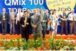 Công ty Nam Phương V.N vinh dự nhận giải thưởng Top Brands 2016 và giải thưởng QMix 100 2016