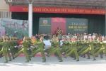 Xem màn duyệt binh đẹp mắt trong lễ khai giảng Học viện Cảnh sát nhân dân
