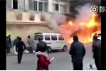Trung Quốc: Tiệm mát-xa chân cháy dữ dội, nhiều người chết