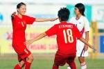 Tuyển nữ Việt Nam ấm ức vì thua Trung Quốc
