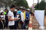 Gần 900 thí sinh Đắk Lắk không đến làm thủ tục dự thi THPT quốc gia 2016