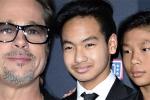Pax Thiên, Maddox bỏ về trong buổi gặp Brad Pitt