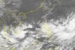 Áp thấp nhiệt đới gần bờ gây mưa to ở Nam Bộ