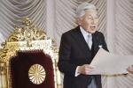 Nhật hoàng Akihito 'bóng gió' việc thoái vị, truyền ngôi