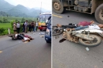 Xe máy phóng nhanh, lạng lách tông trực diện xe buýt, 2 anh em ruột thương vong