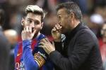Rộ tin Messi tác động đá Enrique khỏi Barca