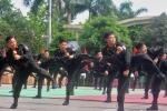 Màn biểu diễn võ thuật khó rời mắt của sinh viên Học viện Cảnh sát