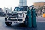 Dàn siêu xe 'khủng' của cảnh sát xứ sở giàu có Dubai