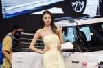 Bí mật đằng sau việc kiếm tiền triệu của nghề người mẫu triển lãm xe