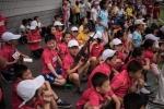 Trẻ em Triều Tiên tập bắn súng AK, ném lựu đạn để tiêu diệt kẻ thù