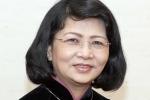 Bà Đặng Thị Ngọc Thịnh được giới thiệu để bầu Phó Chủ tịch nước